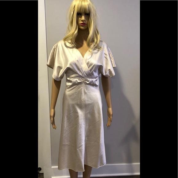 80da8a5ed6532 Catherine Malandrino Dresses   Cream Silk Charmeuse Dress   Poshmark